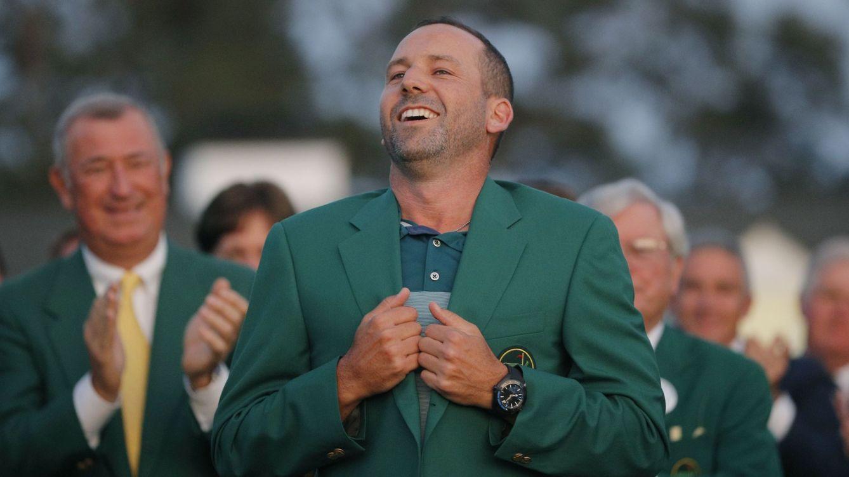 Foto: Las 'subidas y bajadas' de Sergio García en este Masters de Augusta