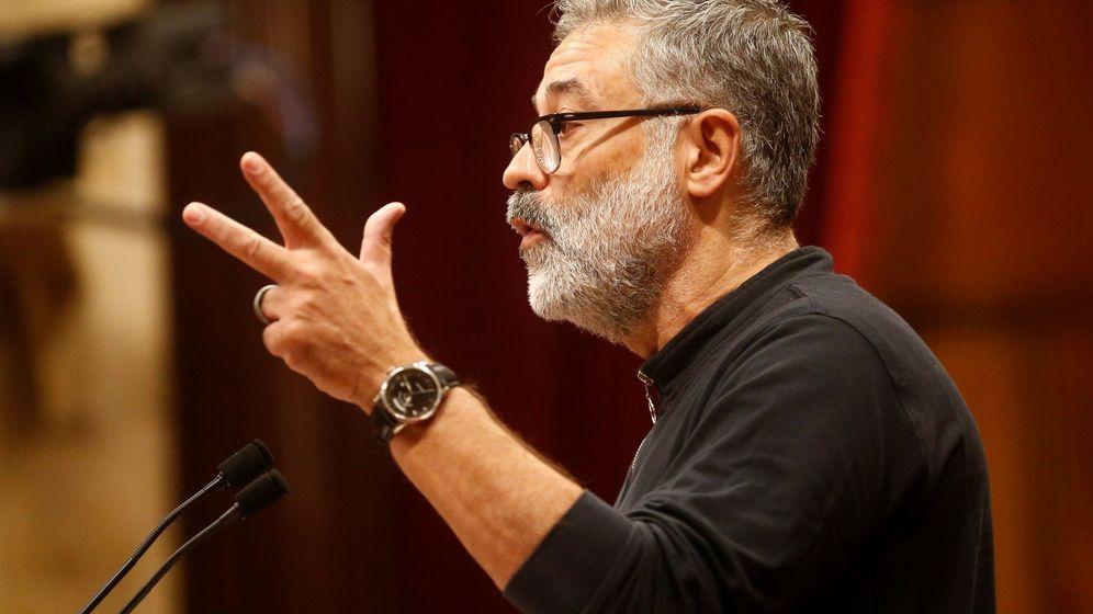Foto: El diputado de la CUP, Carles Riera. (EFE)
