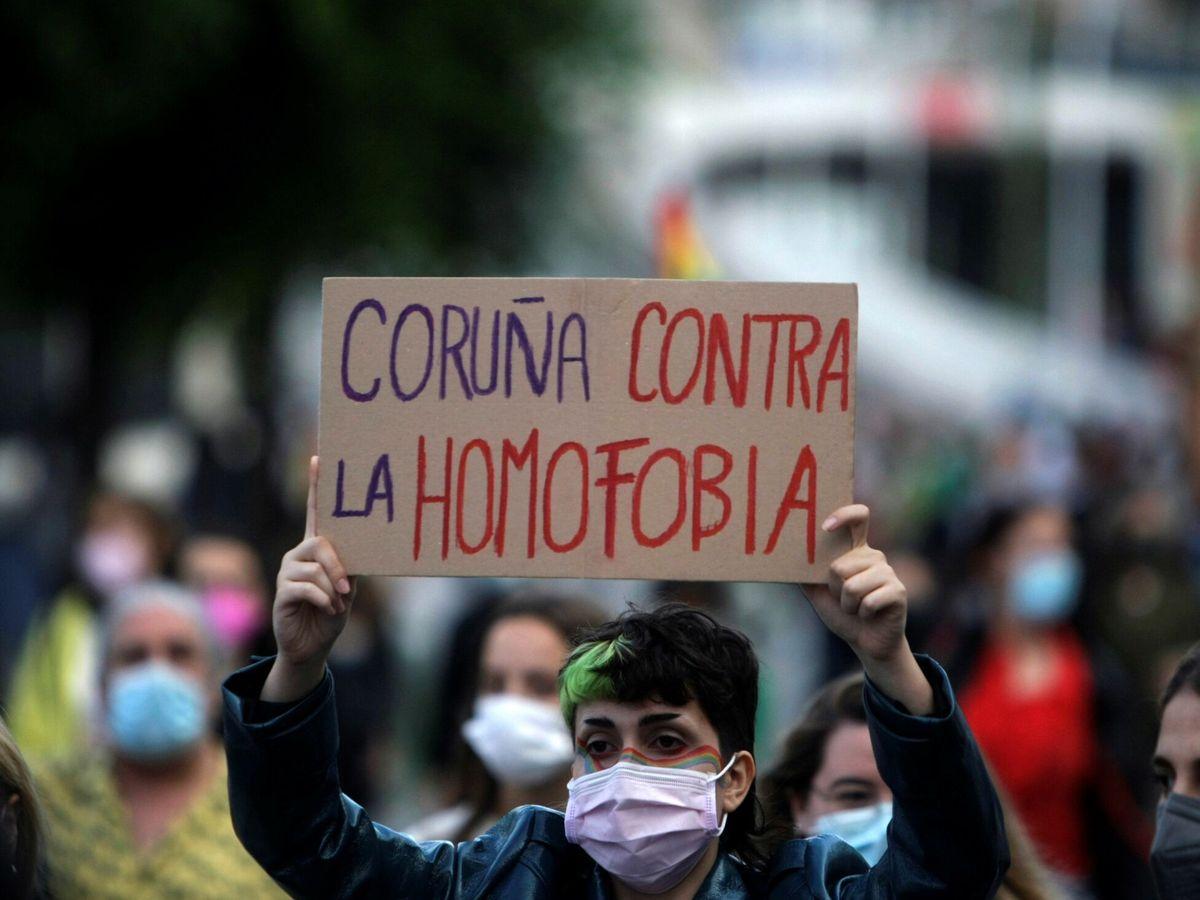 Foto: Protesta contra la violencia homofóbica. (Reuters)