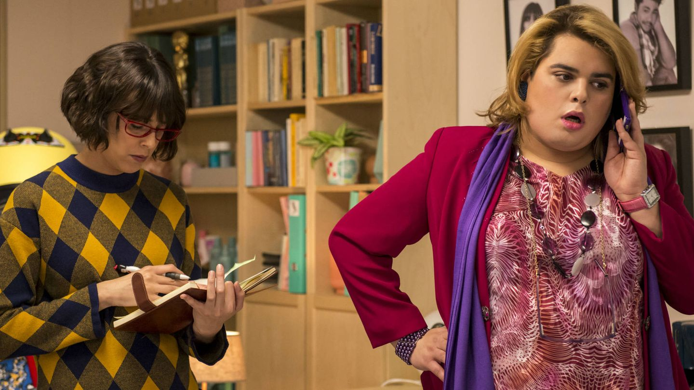 Fotograma de 'Paquita Salas', otra de las series españolas de Netflix.