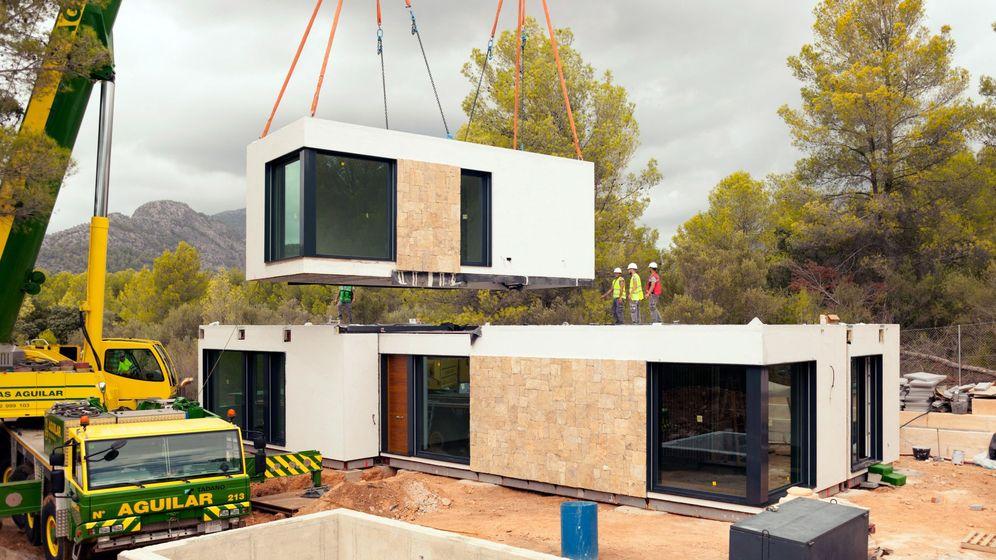 Foto: Construcción de vivienda