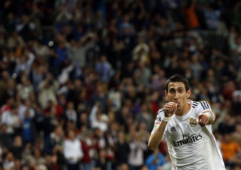 Foto: Ángel di María podría fichar por el PSG (Reuters).