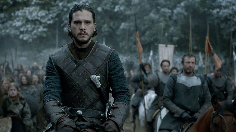 Jon Snow en 'La Batalla de los Bastardos'. (HBO)
