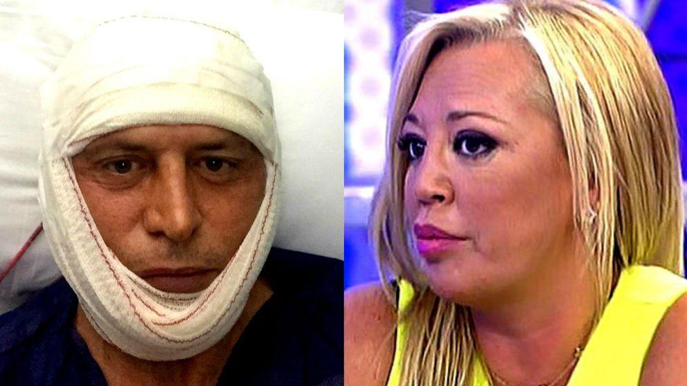 'Sálvame' - Kiko Matamoros se burla de Belén Esteban desde el hospital