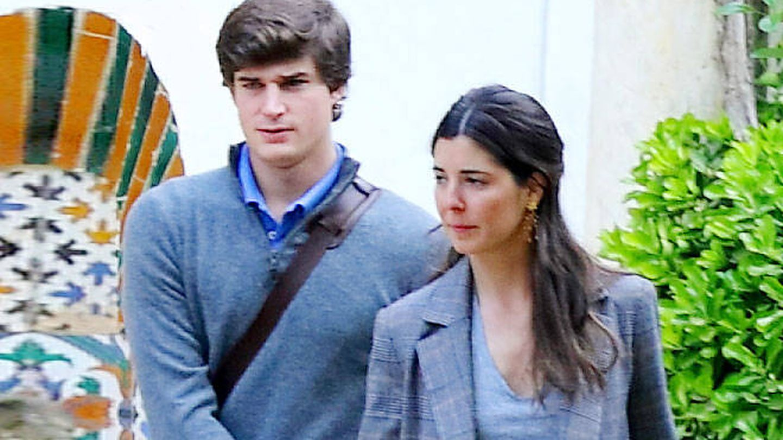 Belén Corsini y el conde de Osorno. (Lagencia Grosby)