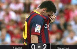 El mejor arranque de la historia del Barça tiene sabor agridulce: Messi se lesiona