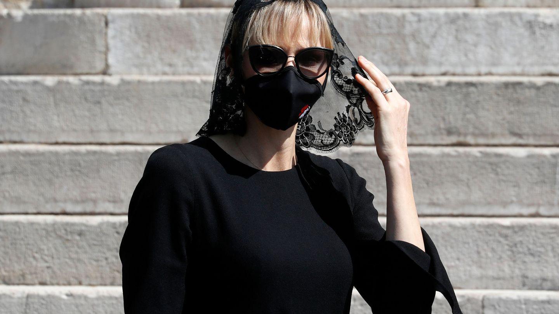 Charlène de Monaco y su flequillo anterior al baby bang. (Reuters)