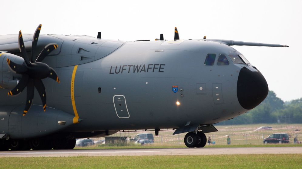 Foto: Un A400M del ejército alemán. (Foto: EFE)