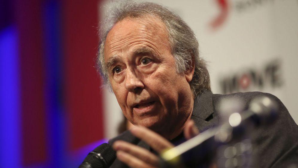 Foto: El cantautor español Joan Manuel Serrat en Buenos Aires. (Efe)