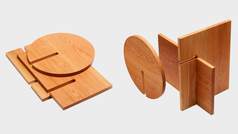 Foto: Una mesa ligera y totalmente plegable.
