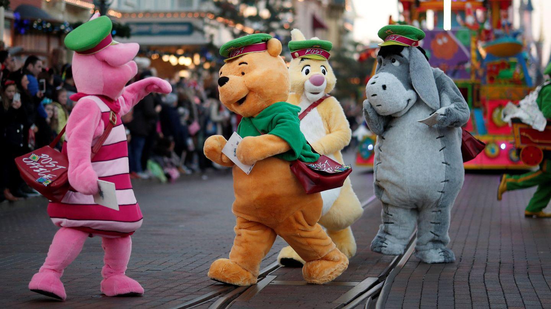 Winnie the Pooh y sus amigos. (Reuters)