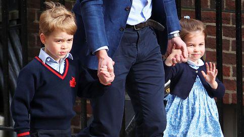 El príncipe George y la princesa Charlotte ya conocen a su nuevo hermanito