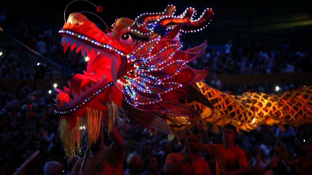 Foto: Celebración del Año Nuevo chino en Montevideo (EFE/Raúl Martínez)