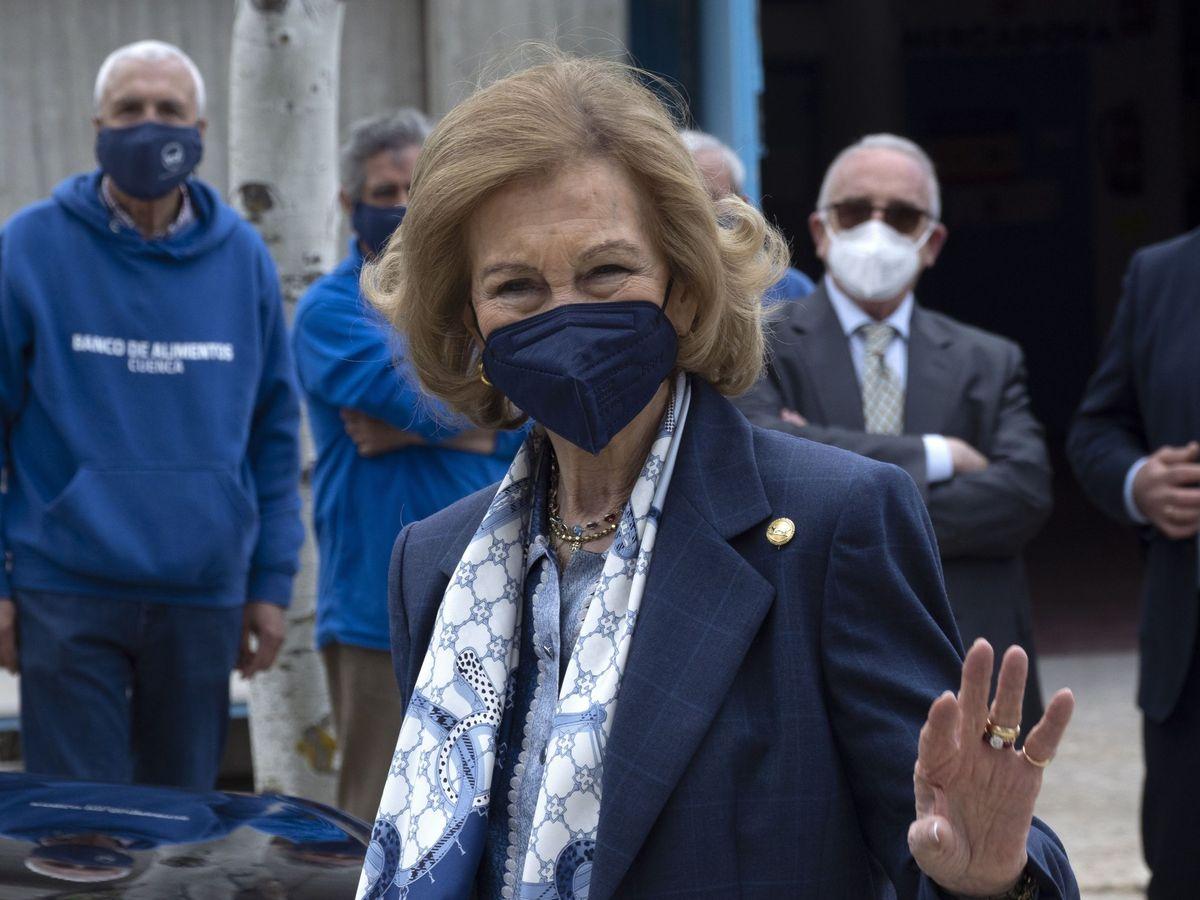 Foto: La reina Sofía, en un acto público reciente. (EFE)