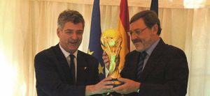 La Copa del Mundo comienza su gira por España