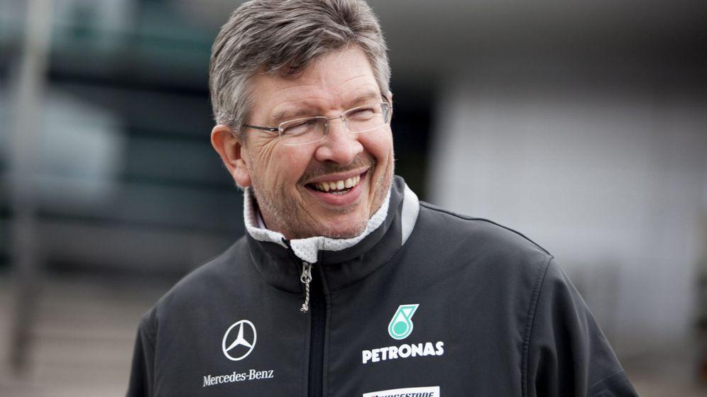 Foto: Ross Brawn es el nuevo director deportivo de la F1 (Diego Azubel/EFE)