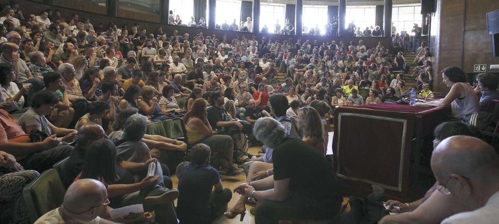 Foto: Asamblea de Podemos en Madrid. (Efe)