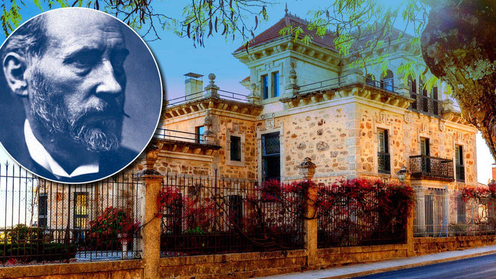 Foto: Fachada de la casa en venta de Ramón y Cajal.