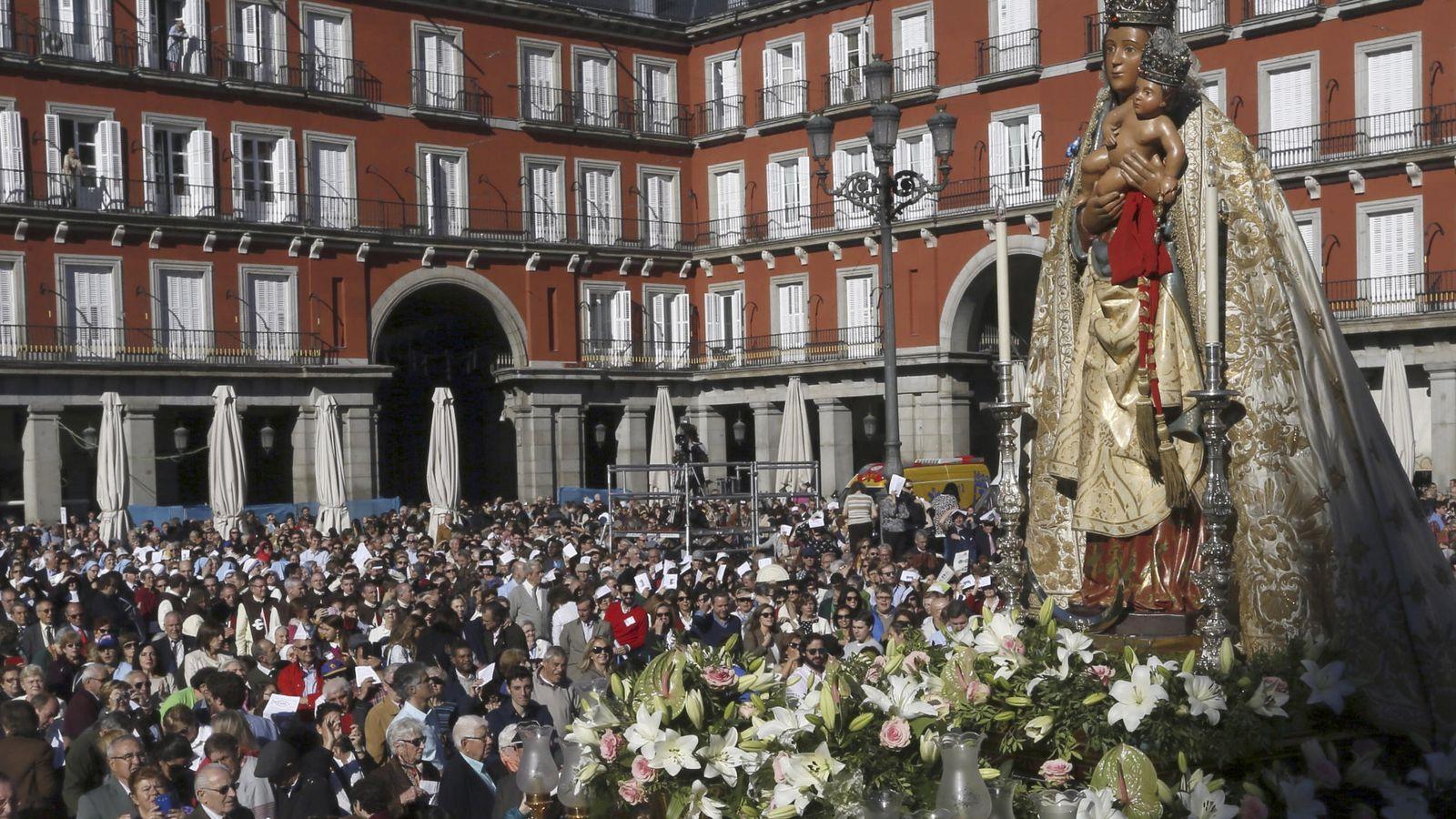 Foto: La Virgen de la Almudena, patrona de Madrid. (EFE)