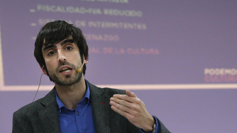 Eduardo Maura, candidato oficialista a la secretaria autonómica de Podemos. (EFE)