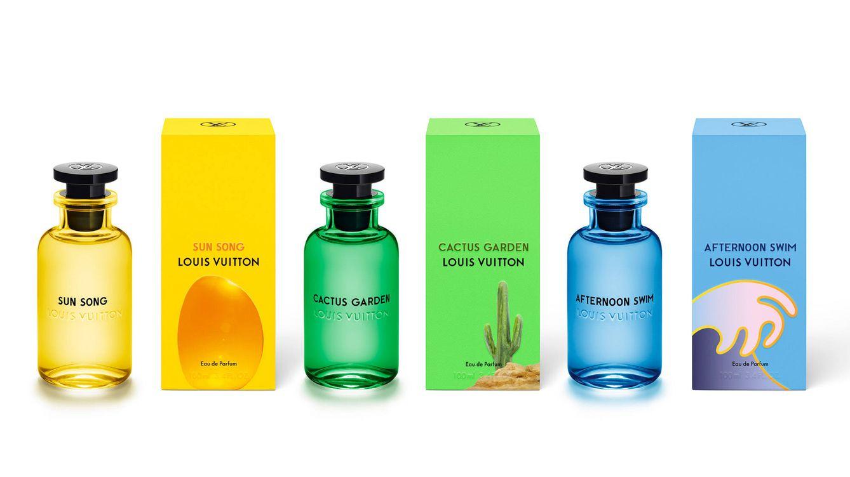 Foto: Los tres perfumes de la nueva línea de Louis Vuitton: Sun Song, Cactus Garden y Afternoon Swim