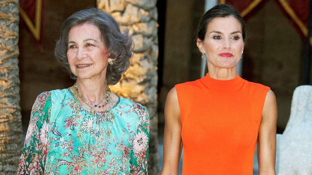 Foto: Doña Letizia y doña Sofía en una imagen de archivo. (Getty)