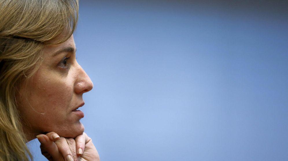 Foto: Tania Sánchez, excandidata de IU e impulsora de Convocatoria por Madrid. (EFE)