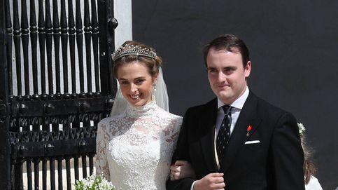 Marido y mujer: así ha sido la boda de Jaime de Borbón-Dos Sicilias y Charlotte Lindesay