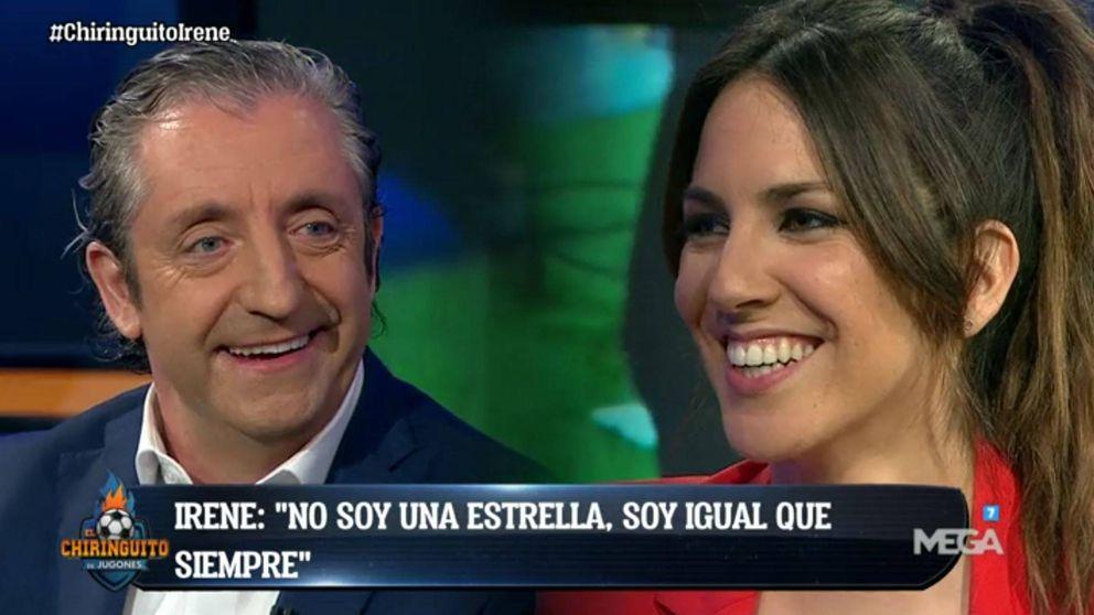 Pedrerol, visiblemente emocionado, se despide de Irene Junquera