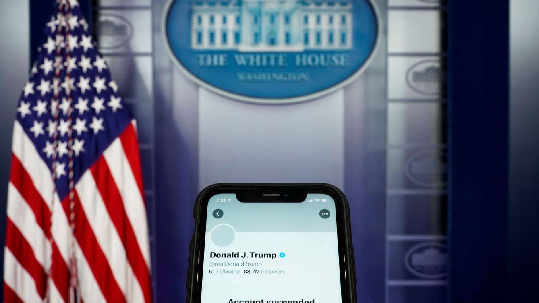 Twitter cae con fuerza en bolsa tras el veto permanente a Donald Trump
