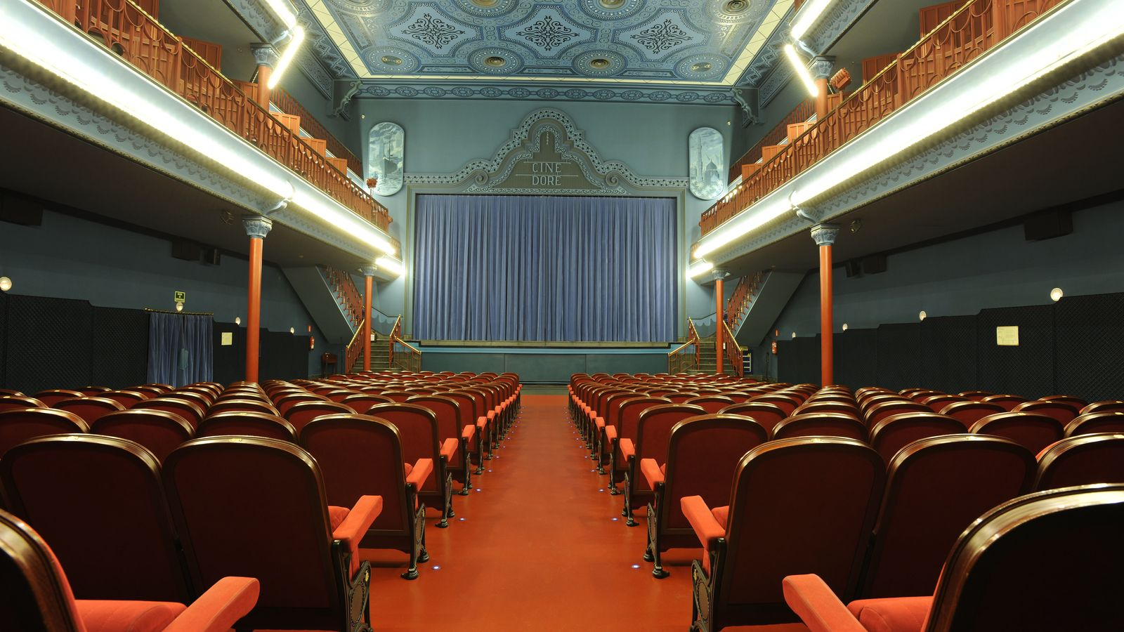 Foto: Sala 1 del Cine Doré
