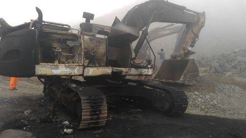 Perú dinamita (literalmente) la mina de áridos de un empresario murciano