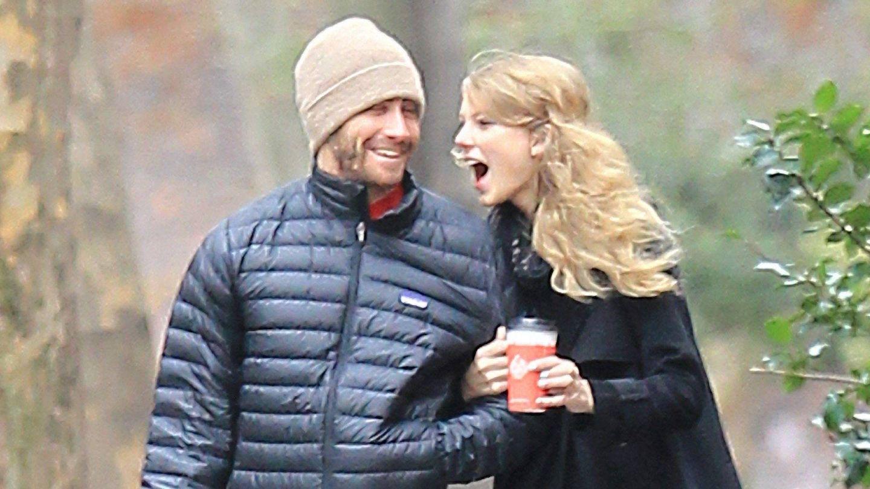 Taylor Swift y Jake Gyllenhaal, en 2010. (Cordon Press)