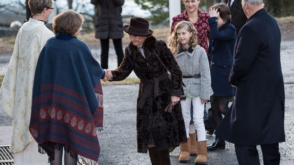 El tenso encuentro de los reyes de Noruega y Ari Behn tras su 'escarceo'