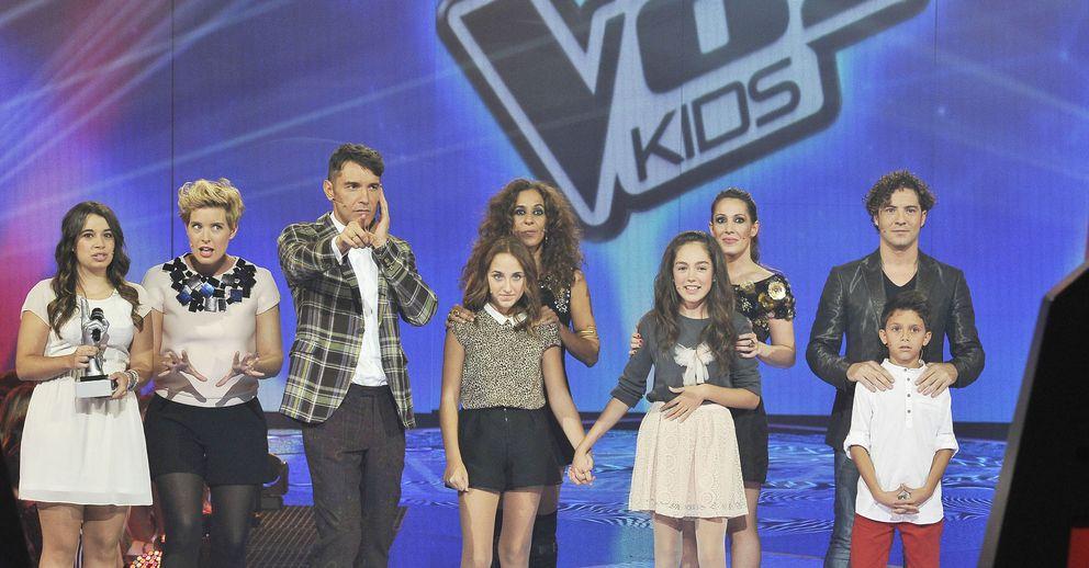 Foto: Finalistas de 'La Voz kids' (Telecinco)