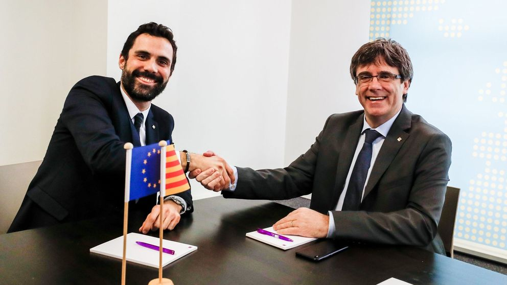 Puigdemont presiona a Torrent para que desoiga al TC y desafíe otra vez al Estado
