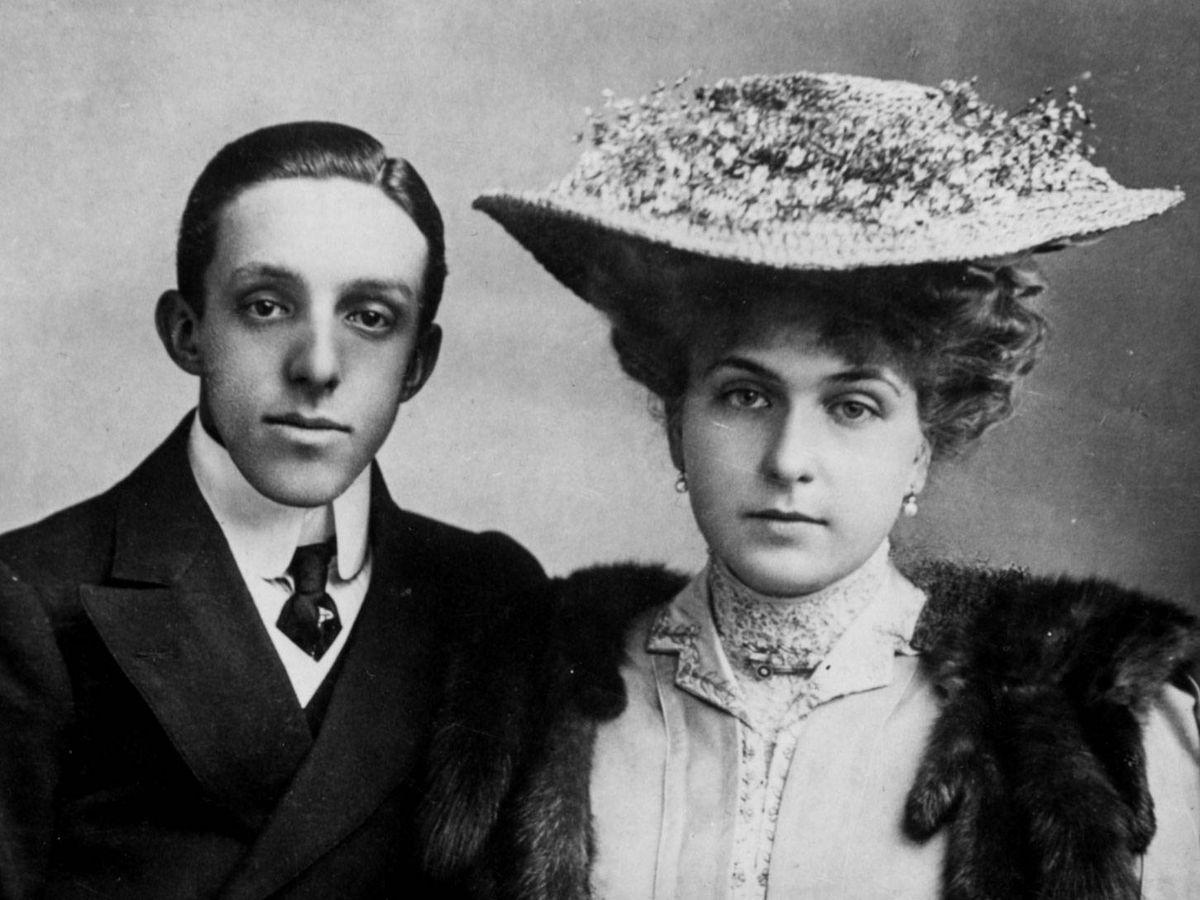 Foto: Los reyes Alfonso XIII y Victoria Eugenia. (Getty)