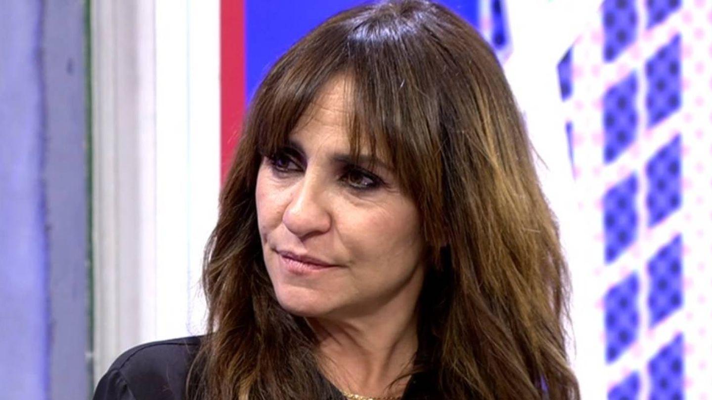 Melani Olivares hablando de su bisexualidad. (Telecinco).