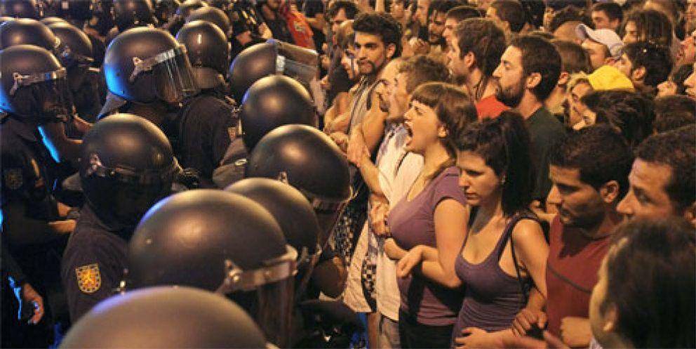 En libertad los 27 'indignados' españoles detenidos en Bruselas
