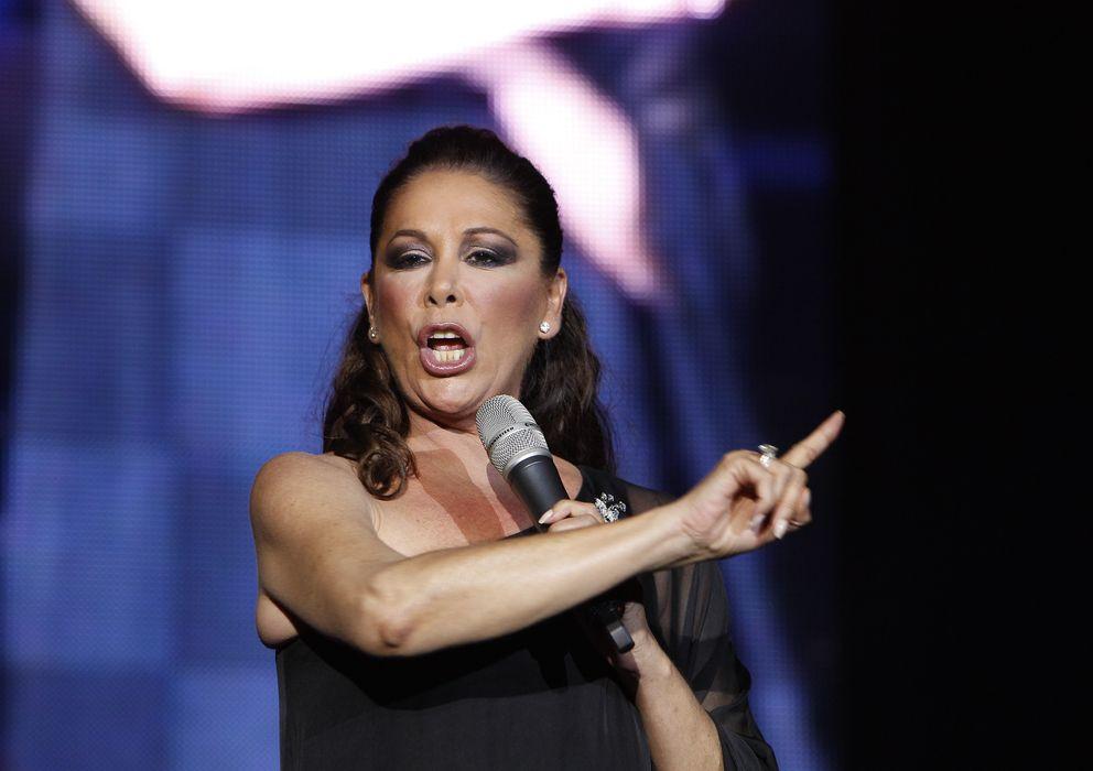 Foto: La cantante, durante el concierto (Gtres)