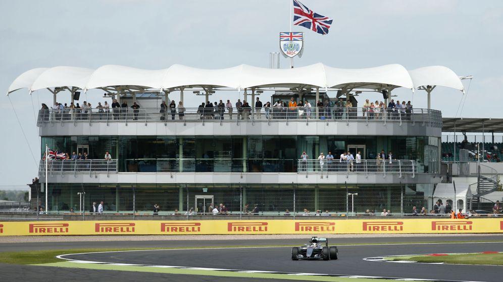 Foto: Lewis Hamilton, el año pasado en Silverstone. (Reuters)