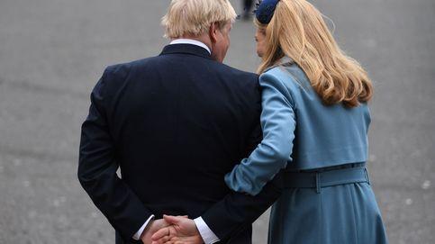 Guiños a Kate Middleton y mucha identidad: Carrie Symonds se gana a los británicos