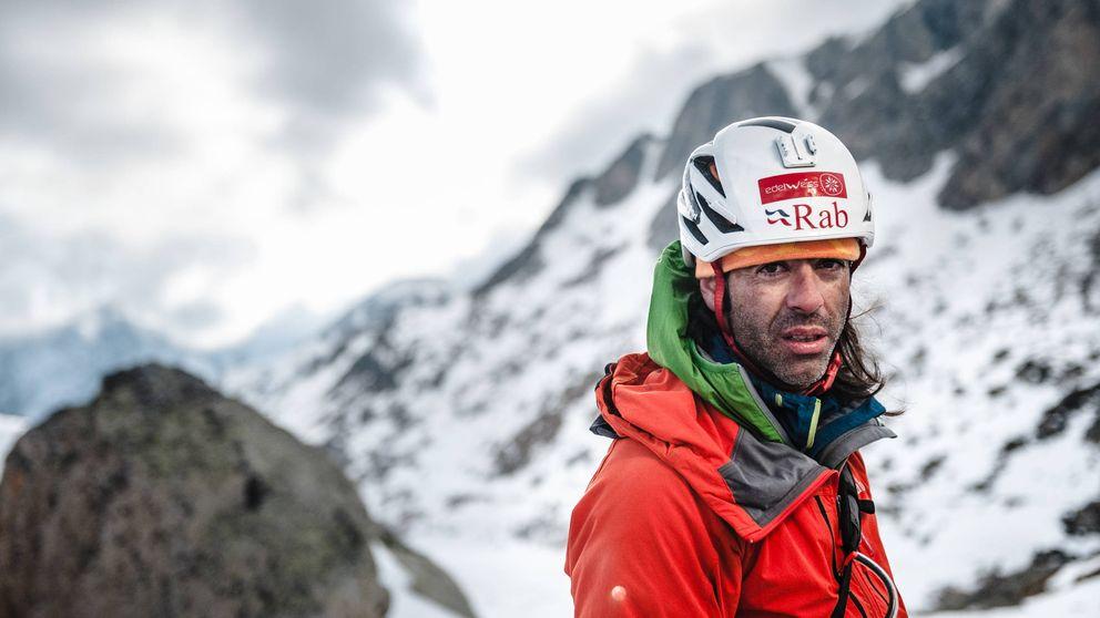 40 días sin pisar suelo: soledad y escalada extrema de Pedro Cifuentes