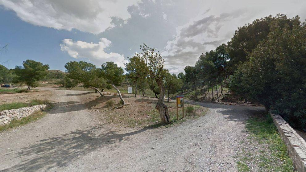 Hallan el cuerpo calcinado de una mujer junto a las barbacoas de un parque en Murcia