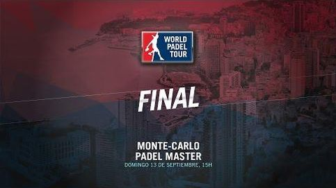 En directo, la final del Monte-Carlo Padel Master