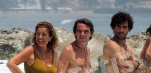 Post de La familia Aznar Botella exhibe cuerpazo en la playa (superabdominales incluidos)