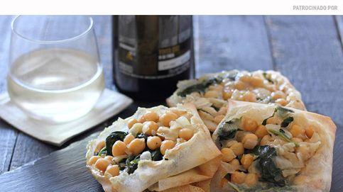Cestitas de garbanzos con espinacas: receta para no olvidar las legumbres en verano
