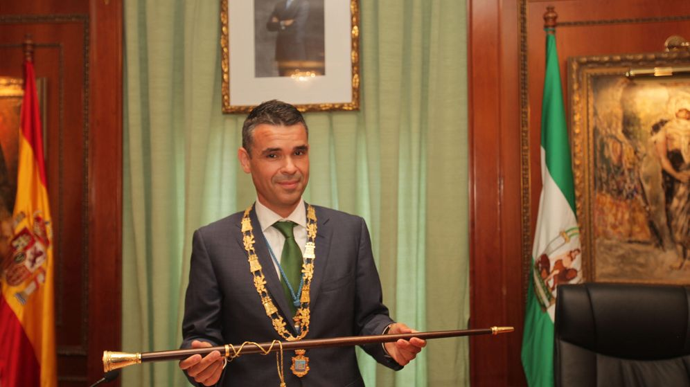 Foto: José Bernal, nuevo alcalde de Marbella gracias a un cuatripartito de izquierdas. (A. de la Gama)