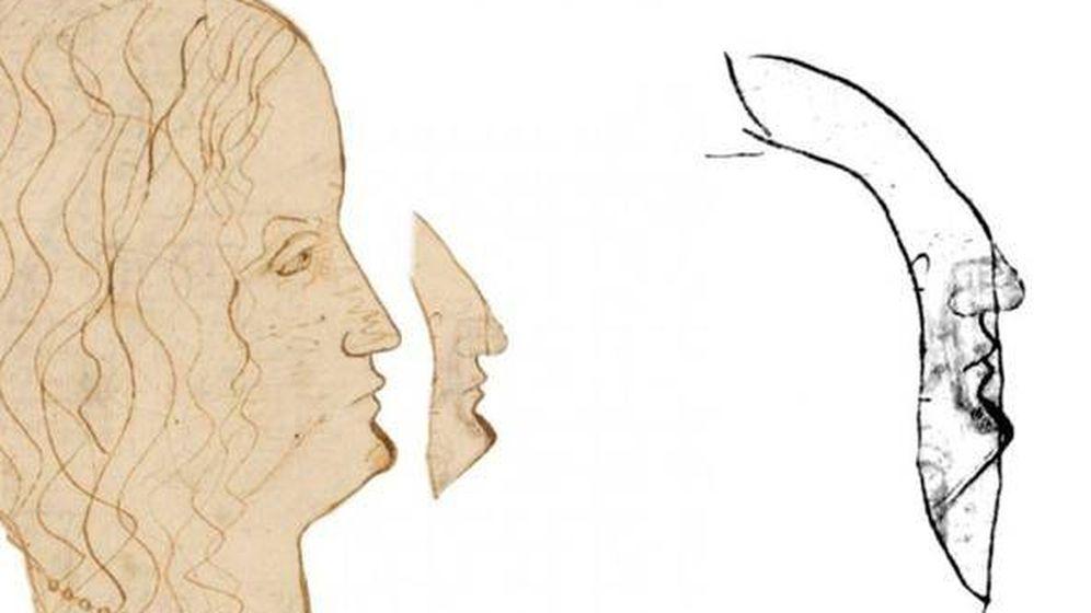Foto: Da Vinci sentía fascinación por la automímesis.