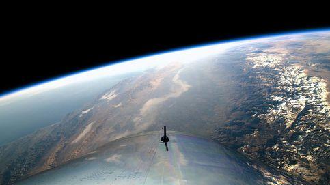 El primer vuelo espacial de Virgin Galactic